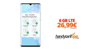 HUAWEI P30 Pro mit 6 GB LTE im Telekom Netz nur 26,99€