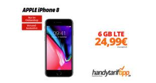 iPhone 8 mit 6 GB LTE nur 24,99€