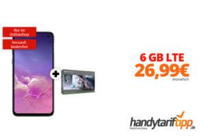 Galaxy S10e + Xbox mit 6 GB LTE nur 26,99€