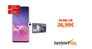 Galaxy S10 & Xbox mit 16GB LTE nur 36,99€