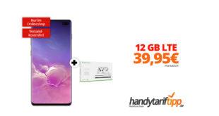 Galaxy S10+ & Xbox mit 12 GB LTE im Telekom Netz nur 39,95€