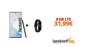 Galaxy Note10 & Galaxy Fit e mit 8 GB LTE im Telekom Netz nur 31,99€