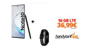 Samsung Note10 & Samsung Galaxy Fit e mit 16 GB LTE nur 36,99€