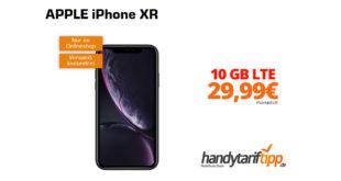 APPLE iPhone XR mit 10 GB LTE nur 29,99€