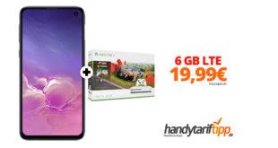 Galaxy S10e & Xbox One S 1TB mit 6 GB LTE im Telekom Netz nur 19,99€