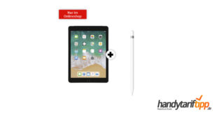 "APPLE iPad 10,2"" Wi-Fi + Cellular & Apple Pencil mit 10 GB LTE nur 24,99€"