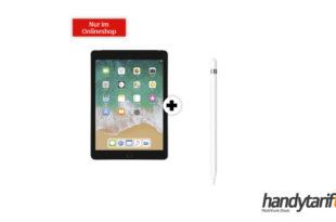 "APPLE iPad 10,2"" Wi-Fi + Cellular & Apple Pencil mit 10 GB LTE nur 24,99€"
