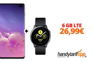 Galaxy S10Plus & Galaxy Watch mit 6 GB LTE nur 26,99€