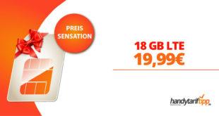 18 GB LTE Allnet Flat im Telekom Netz nur 19,99€