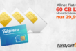Allnet 60 GB LTE (monatlich kündbar) nur 29,99€