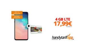 Galaxy S10e & Xbox One S 1TB mit 4 GB LTE nur 17,99€