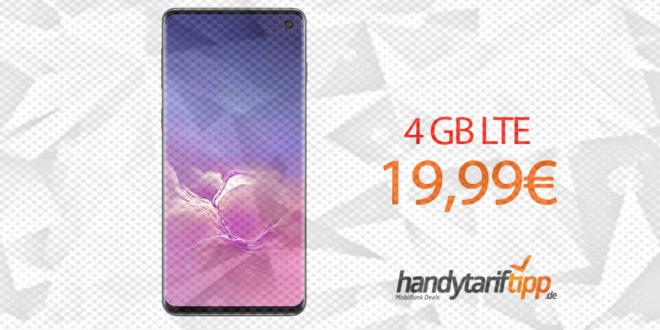 Samsung Galaxy S10 mit 4 GB LTE nur 19,99€