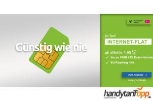 [Daten-Tarif] 15 GB LTE Telekom eff. nur 9,99€