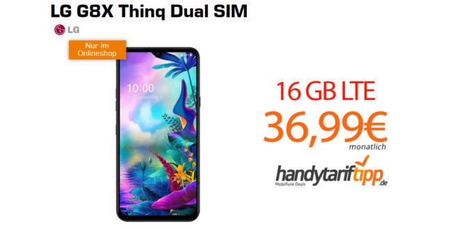 LG G8X Thinq Dual SIM mit 16GB LTE nur 36,99€