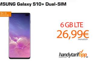 Galaxy S10+ mit 6 GB LTE nur 26,99€