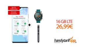 HUAWEI P30 Pro & Watch GT Active mit 16GB LTE nur 26,99€