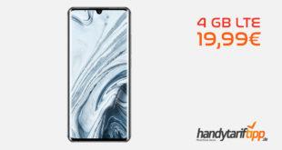XIAOMI Mi Note 10 Pro mit 4 GB LTE nur 19,99€