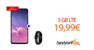 Galaxy S10e & Galaxy Fit e mit 5 GB LTE nur 19,99€