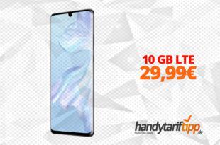 HUAWEI P30 Pro mit 10GB LTE nur 29,99€