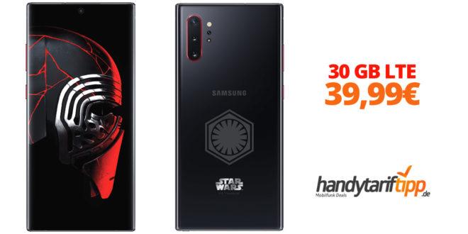 Galaxy Note10+ Star Wars Special Edition mit 30GB LTE nur 39,99€
