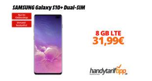 Galaxy S10Plus mit 8 GB LTE nur 31,99€