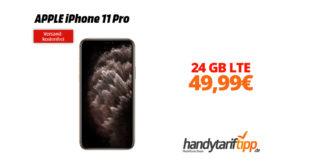 APPLE iPhone 11 Pro mit 24 GB LTE nur 49,99€
