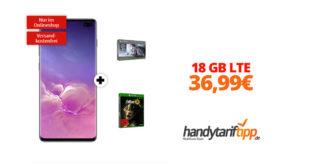 Galaxy S10Plus & Xbox mit 18 GB LTE nur 36,99€