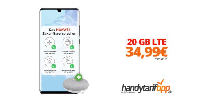HUAWEI P30 Pro mit 20GB LTE nur 34,99€