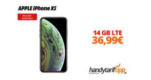 APPLE iPhone XS mit 14 GB LTE Telekom nur 36,99€