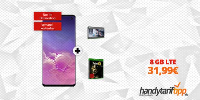 Galaxy S10 & Xbox mit 8 GB LTE nur 31,99€