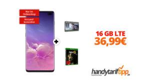 Galaxy S10Plus & Xbox mit 16 GB LTE nur 36,99€