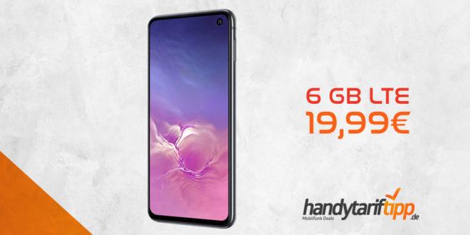 Galaxy S10e mit 6 GB LTE nur 19,99€
