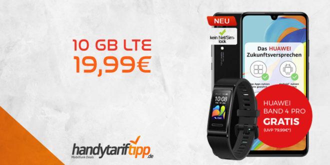 P30 lite NEW EDITION & Huawei Band 4 Pro mit 10 GB LTE nur 19,99€