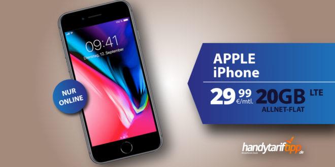iPhone XR mit 20 GB LTE nur 29,99€