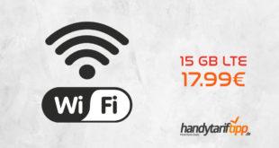 [Daten Deal] 15 GB LTE Telekom mit WLAN-Hotspot nur 17,99€