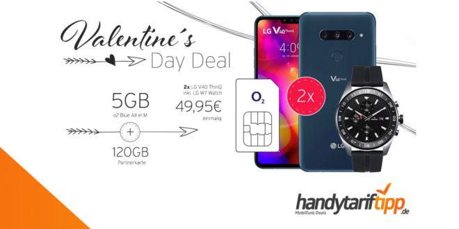 [Partner Deal] 2x LG V40 ThinQ & LG W7 Watch mit 5 GB und 120 GB LTE nur 42,48€