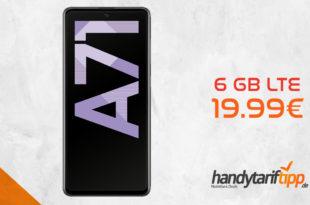 Galaxy A71 mit 6 GB LTE nur 19,99€