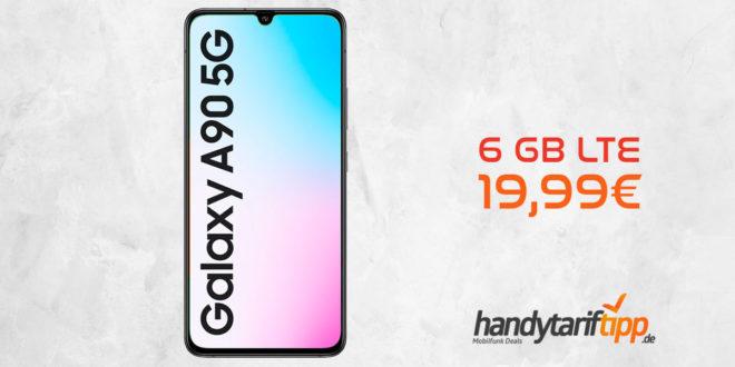 Galaxy A90 5G mit 6 GB LTE nur 19,99€