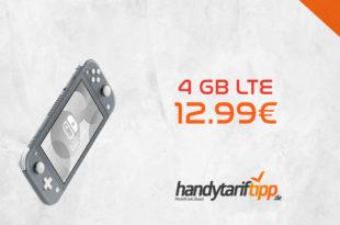 Nintendo Switch Lite Konsole mit 4 GB LTE nur 12,99€