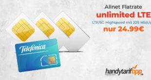 o2 Free Unlimited Max Partnerkarte nur 24,99€