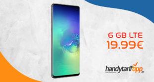 SAMSUNG Galaxy S10 Dual-SIM mit 6 GB LTE nur 19,99€