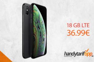 APPLE iPhone XS mit 18 GB LTE nur 36,99€
