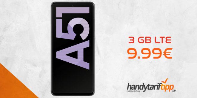 SAMSUNG Galaxy A51 mit 3 GB LTE nur 9,99€