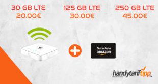 [Mobiler HotSpot im Telekom Netz] 30 GB LTE nur 20€ | 125 GB LTE nur 30€ | 250 GB LTE nur 45€