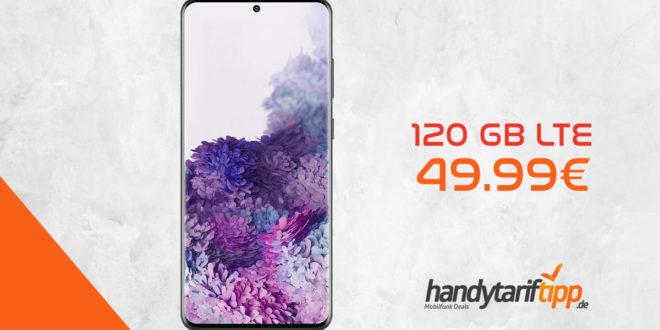 Galaxy S20+ [S20Plus] mit 120 GB LTE nur 49,99€