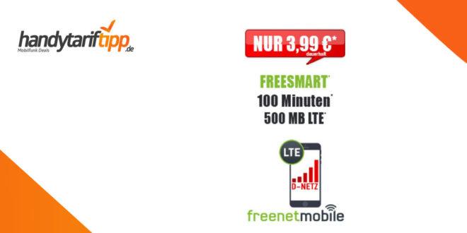 100 Minuten & 500 MB LTE im Telekom Netz nur 3,99€