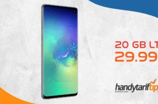 Galaxy S10+[S10Plus] mit 20 GB LTE nur 29,99€