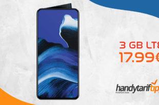 OPPO Reno 2 mit 3GB LTE nur 17,99€