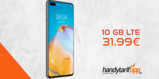 HUAWEI P40 mit 10 GB LTE nur 31,99€