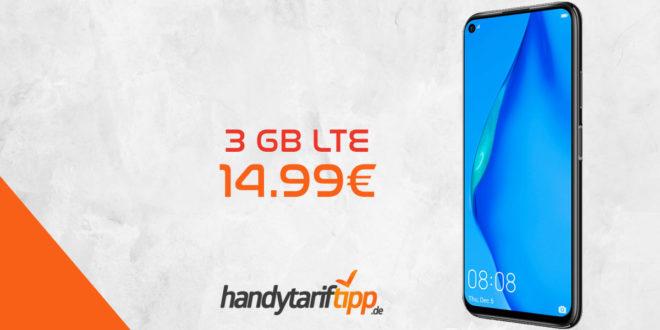 HUAWEI P40 lite mit 3 GB LTE nur 14,99€